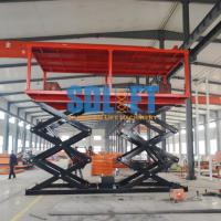 Quality Hydraulic Scissor Car Lifts For 2 Cars Parking for sale