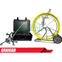 Quality Sewer inspection camera system Pipeline Inspection 360 degree rotating pan and tilt for sale