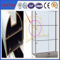 Quality New arrival! Aluminium alloy display stand, Aluminium profile for display for sale