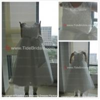 Quality Capes Satin sash Lace flower girl dress#ASF3230 for sale