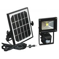 Buy cheap Motion Sensor Solar LED Flood lights , 12V DC 20W PIR LED Floodlight Bridgelux from wholesalers