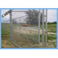 Buy cheap Heavy Duty Hot Dipped Galvanized Chain Link Fence Fabric 9 Gauge 1.2m X 30m Size from wholesalers
