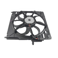 Quality 3.0si 4.8i 600W BMW X5 E70 Car Cooling Fan 17428618241 17428618240 for sale
