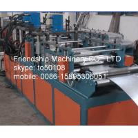 Buy cheap 11Kw GI 2MM Thickness Frame Roll Forming Machinery For Making Fire Damper Frame from wholesalers