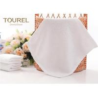 Quality 100% Cotton White Hotel Face Towel for sale