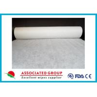 Quality Plain Disposable Spunlace Nonwoven Fabric Biodegradable 200gsm Weight for sale