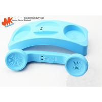 Quality Blue Retro Bluetooth Phone Handset, Pop Iphone 4 Handsets with on / off Button for sale