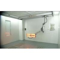 Short Wave Infrared Lamp Heating Side Draft Paint Booth For 4S Shop