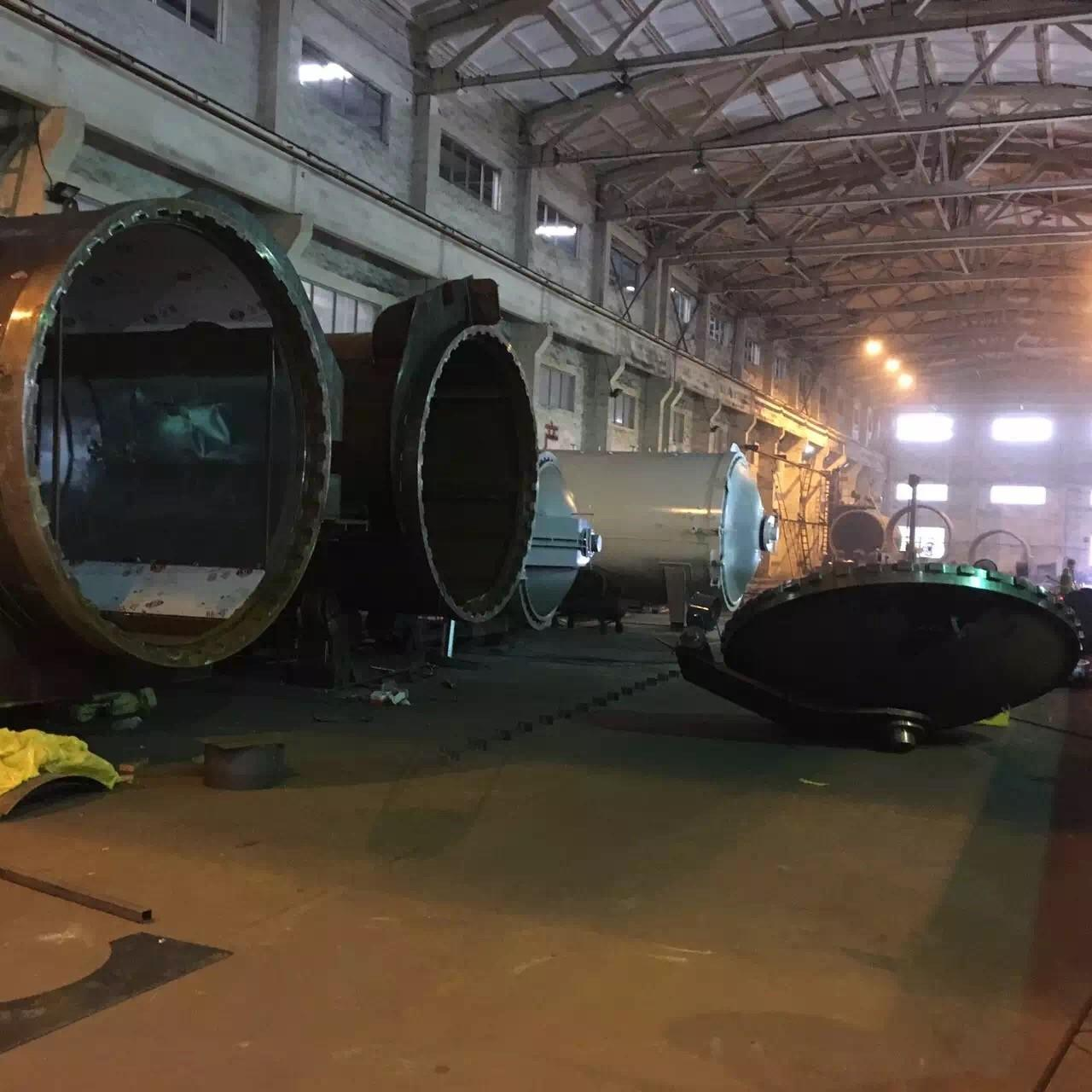 Quality Wood Autoclave With Safety Interlock , Automatic Control High Temperature And High Pressure for sale