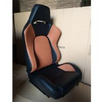 Quality JBR1056 PVC Sport Racing Seats With Adjuster / Slider Car Seats for sale