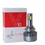 Quality 3000K H8 / H9 / H11 Car LED Headlights V10 DC 12 - 24V 120W High Power for sale