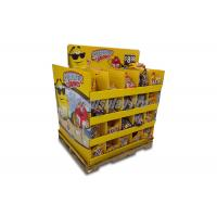 Quality Cardboard Pallet Chocolate Point Of Sale Display Two Way 100x800x1320 mm for sale