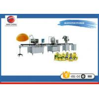 Quality Cooking Oil Packing Auto Oil Filling Machine 1.2 KW 2000 * 1200 * 2500 220V / 380V for sale
