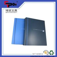 China Filling Products PP File Folder A4 Bule 2 Ring Binder Document Folder Ring Binders on sale