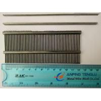 Quality AISI304 Wedge Wire Screen Flat Panels, Used in Mining, Buinding, etc. for sale