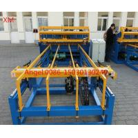 Quality china supplier CNC control 2.0mm -5.0mm Concrete Reinforcing Welded Wire Mesh Panel Machine for sale