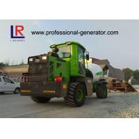 China 4 Cubic Meters Concrete Mixer Truck , Water Tank Capacity 660L on sale