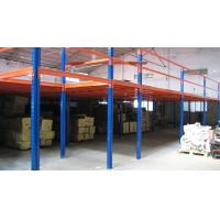 Quality Multi functional Mezzanine Racking System , Steel Mezzanine Floor With Stair And Goods Elevator for sale