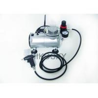 Quality Black Professional Airbrush Tanning Kit Machine with Single Cylinder Piston Compressor for sale