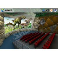 Quality Large 360 Degree Screen 4D Movie Theater With 4D Simulator Can Hold 60-100 People for sale