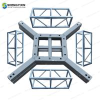 Quality Wholesale aluminum DJ lighting stage event display Different Shape 300mm Triangle Steel Aluminum Box Sport Event Truss for sale