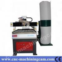 Quality cnc router for wood/metal with dust collector ZK-6060(600*600*120mm) for sale