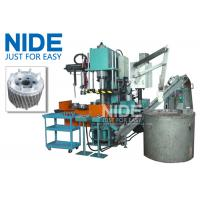 Buy Auto Four Working Station Armature Casting Machine For Aluminum Rotor Die at wholesale prices