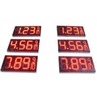 Quality 8.88 9 / 10 Led Gas Price Display , Digital Gas Station Price Signs Outdoor Type for sale