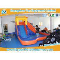 Quality 6*4m New Design Inflatable Kids Water Slide For Home Use or Commercial for sale