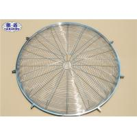Quality Metal Wire Fan Grill Cover Round Corrosion Resistant Finger Protector for sale