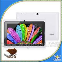 China Android 800x480 Allwinner A13 dual cameras Tablet PC GP705C on sale