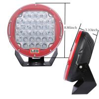 Quality 10'' Inch Round 225w Car LED Fog Lights Truck Driving Light Forest Bottom for sale