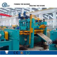Quality 0.3 -1.2mm Roll / Coil / Sheet Metal Slitting Line Machine With 4Kw Hydraulic Station Power for sale