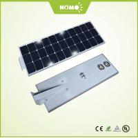 Quality 8-10Meters Integrated Solar Street Light Price LED 50w Hot Selling Roadway Solar Lights for sale