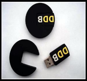 Buy 2016 hot selling unique oem custom pvc usb flash drive, tire shape usb chip USB 2.0/3.0 at wholesale prices