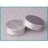Buy cheap Aluminum Screw Top Caps , 38/400 Matt Silver Screw Caps With Embossed Logo from wholesalers