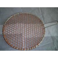 Quality copper round barbecue grill netting for sale