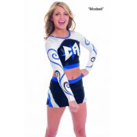 Buy cheap custom sublimated Cheerleading Outfits from wholesalers