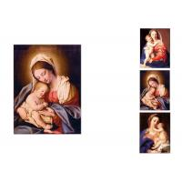 Buy cheap 0.6mm PET Flip Religion Virgin Mary / Jesus 3D Lenticular Images For Wall Decro​ from wholesalers