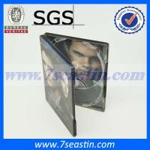 Quality rectangular tin CD&DVD case for sale