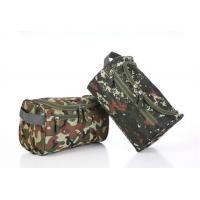 Quality Convenient Zipper Side Travel Cosmetic Bags Large Capacity With Arc Shaped Hook for sale