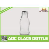 Quality Regular clear 250 ml glass bottles for juice for sale