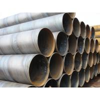 Quality Carbon Steel ASTM A53 Gr.B SSAW Steel Pipe DIN30672 BS534 , Spiral Welded Steel Tube for sale