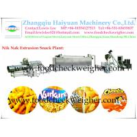 Quality Nik Nak Plant,Snack Food Equipment System,Extrusion Snack Food Machine for sale