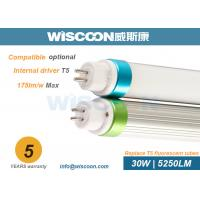 China 110 Lm/W T5 LED Replacement Bulbs Double End Input , Led Lights To Replace Fluorescent Tubes for sale