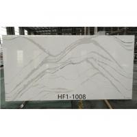 Quality New Artificial Calacatta Quartz Countertops and table tops for sale