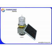 Quality PC and SS304 Material Low Intensity Aviation Obstruction Solar Light for sale