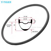 Quality 7-tiger carbon mtb bike rims light weight carbon bicycle wheel 29er ud matt 28-36h carbon cycle rims for sale for sale