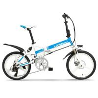China Stable Full Suspension Folding Electric Bike L G Battery 6061 Aluminum Alloy on sale