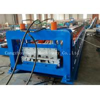Quality Professional Customized Roofing Sheet Roll Forming Machine Hydraulic Cutting Type for sale